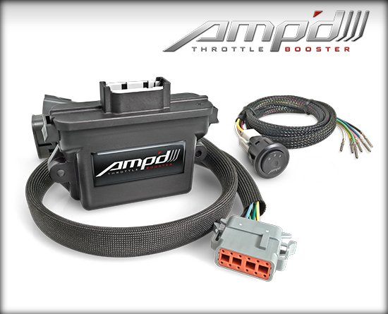 EDGE AMP'D THROTTLE BOOSTER WITH SWITCH|06-07 GM DURAMAX (6.6L) 1