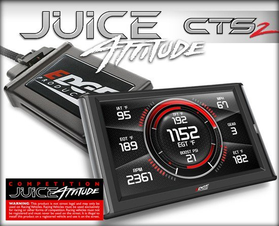 EDGE COMPETITION JUICE WITH ATTITUDE CTS2 MONITOR|01-02 DODGE CUMMINS (5.9L) 1