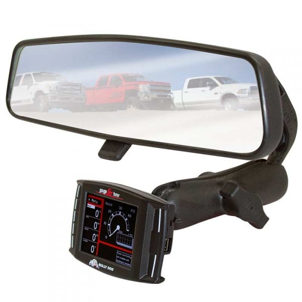 BULLY DOG RAM MIRROR-MATE MOUNTING KIT (FOR USE WITH BULLY DOG GT/WATCHDOG/PMT/H&S MINI MAXX & BLACK MAXX)|GMC & CHEVROLET