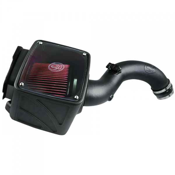 S&B FILTERS COLD AIR INTAKE (CLEANABLE FILTER)|01-04 GM 6.6L DURAMAX LB7