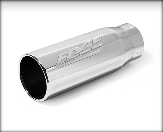 "EDGE 4"" TO 5"" CHROME JAMMER EXHAUST TIP"