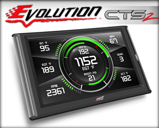 EDGE EVOLUTION CTS2 (COLOR TOUCH SCREEN)|01-16 GM DURAMAX|94-16 FORD POWERSTROKE|03-12 DODGE CUMMINS