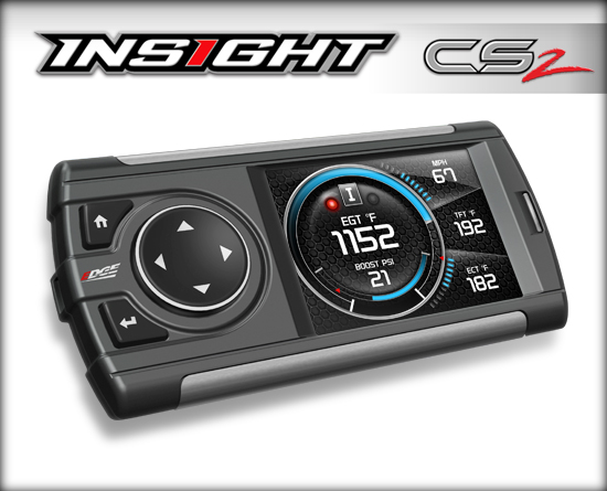 EDGE INSIGHT CS2 MONITOR|FITS 1996+ OBDII VEHICLES & PRE-1996 W/ EAS 12V POWER SUPPLY KIT