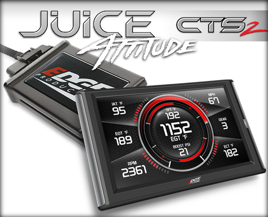 EDGE  JUICE W/ ATTITUDE CTS2 MONITOR|03-04 DODGE CUMMINS (5.9L|CR) 1