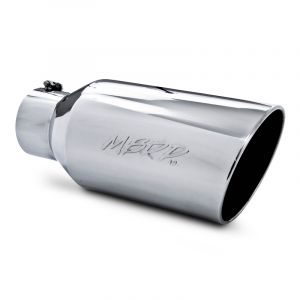 "MBRP ROLLED END EXHAUST TIP (5""INLET/8""OUTLET/18""LENGTH)