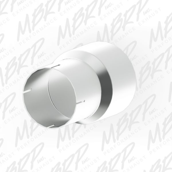 """MBRP 4"""" INLET TO 5"""" OUTLET 7"""" LENGTH STAINLESS EXHAUST ADAPTER