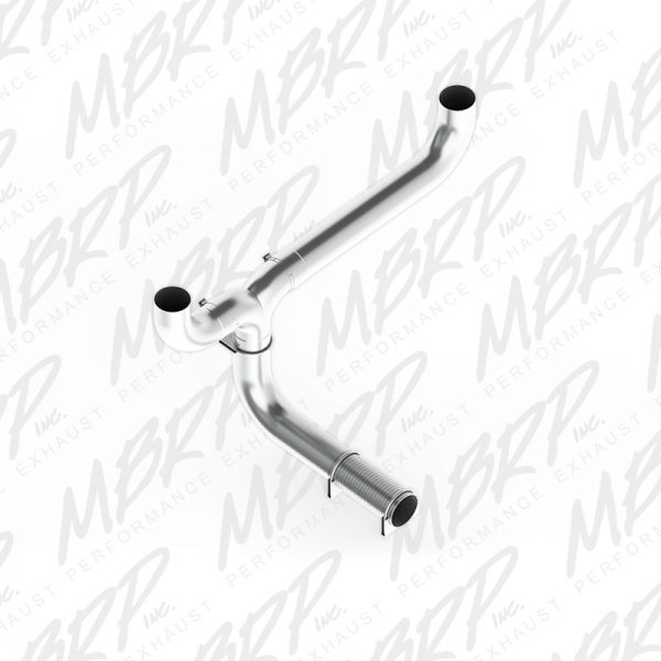 """MBRP 5"""" STAINLESS STEEL T-PIPE STACK KITS