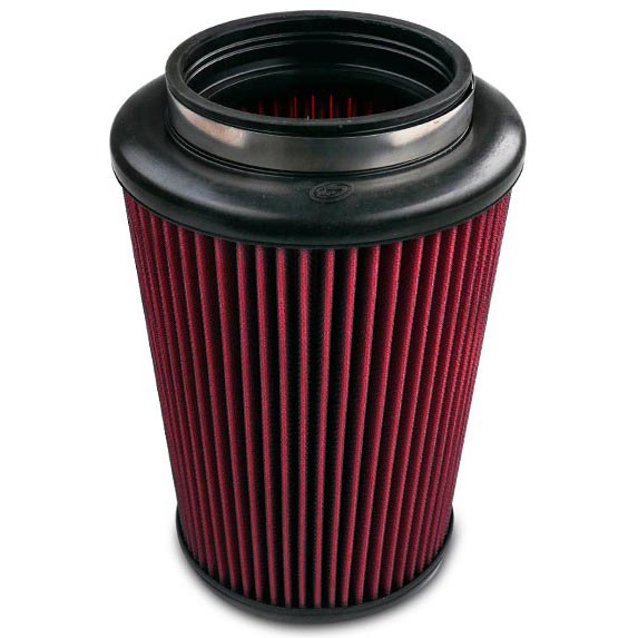 S&B FILTERS INTAKE REPLACEMENT FILTER (COTTON CLEANABLE)|17-18 GM 6.6L DURAMAX LP5|17-18 FORD 6.7L POWERSTROKE 1