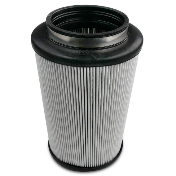 S&B FILTERS INTAKE REPLACEMENT FILTER (DRY DISPOSABLE)|17-18 GM 6.6L DURAMAX LP5|17-18 FORD 6.7L POWERSTROKE 1