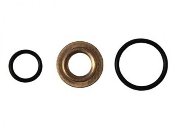EXERGY INJECTOR SEAL KIT (O-RING & COPPER GASKET|SET OF 8)|2004.5-10 GM 6.6L DURAMAX