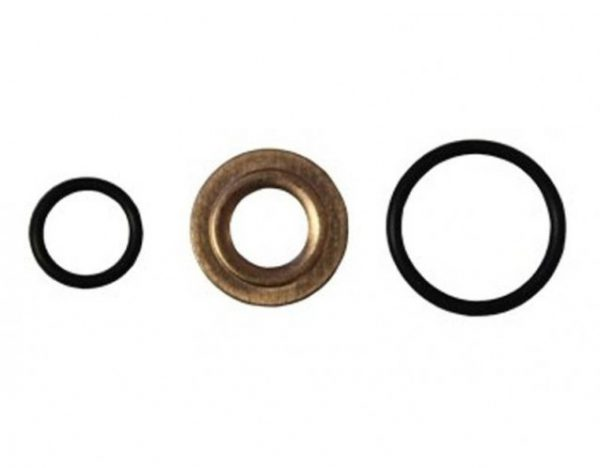 EXERGY INJECTOR SEAL KIT (O-RING & COPPER GASKET|SET OF 8)|2001-2004 GM 6.6L DURAMAX LB7
