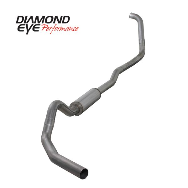 "DIAMOND EYE STAINLESS 4"" TURBO BACK EXHAUST