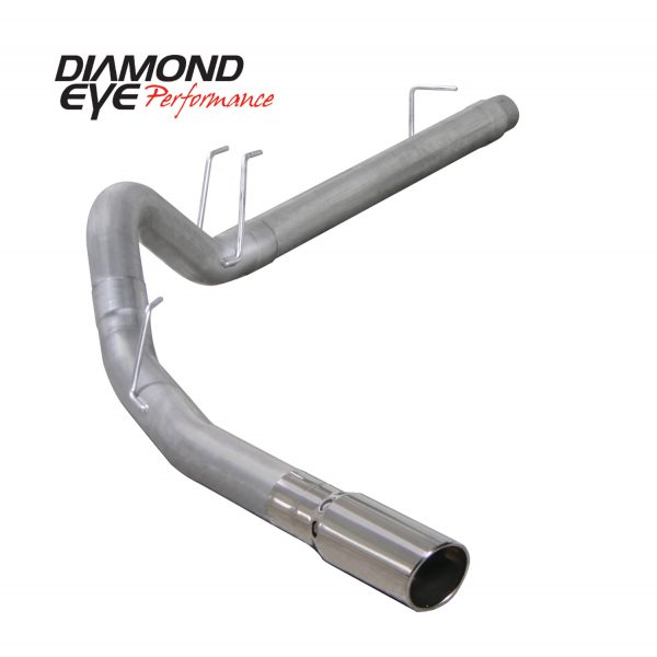 DIAMOND EYE ALUMINIZED DPF BACK SINGLE EXHAUST|2008-2010 FORD 6.4L POWERSTROKE