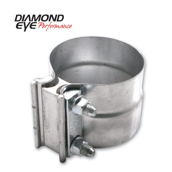 "DIAMOND EYE ALUMINIZED 4"" TORCA LAP JOINT CLAMP