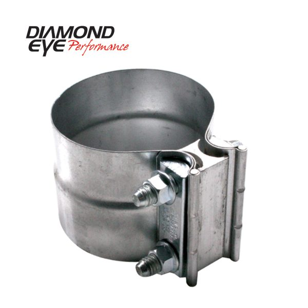 "DIAMOND EYE STAINLESS 4"" TORCA LAP JOINT CLAMP