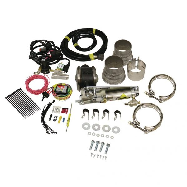 """BD-POWER 3.5"""" REMOTE MOUNT EXHAUST BRAKE