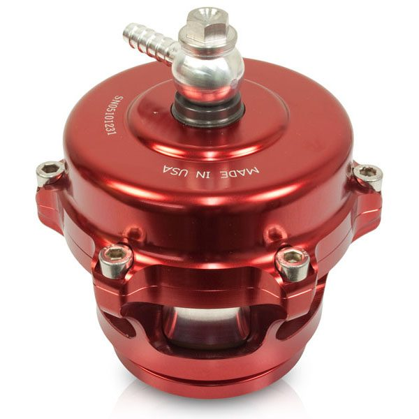 BD-POWER TURBOGUARD BLOW-OFF VALVE (RED VALVE-ALUMINUM ADAPTER)|FORD|1998.5+ DODGE|GM