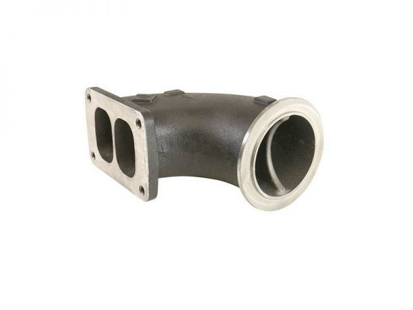 BD-POWER COBRA V-BAND TO S400 T6 HOT PIPE ADAPTER|UNIVERSAL 1