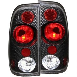 ANZO FORD SUPER DUTY TAILLIGHTS (CARBON)|1999-2007 FORD SUPER DUTY 1