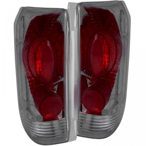 ANZO SMOKED TAILLIGHTS|1994-1997 FORD F250/F350 1