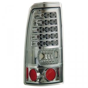 ANZO CHROME LED TAILLIGHTS|2001-2007 GMC SIERRA 2500|2001-2002 CHEVY SILVERADO 2500 1