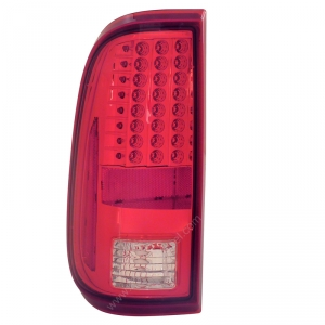 ANZO RED LED TAILLIGHTS|2008-2016 FORD SUPER DUTY 1