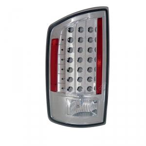 ANZO CHROME LED TAILLIGHTS|2007-2009 DODGE RAM 2500/3500 1