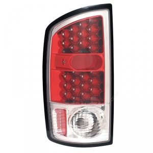 ANZO RED LED TAILLIGHTS|2003-2006 DODGE RAM 1