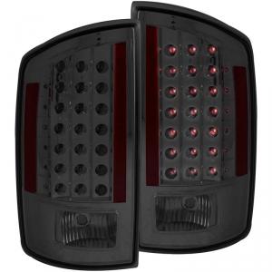 ANZO SMOKED LED TAILLIGHTS 2007-2009 DODGE RAM 2500/3500 1