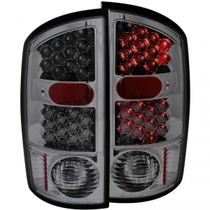 ANZO SMOKED LED TAILLIGHTS|2003-2006 DODGE RAM 1