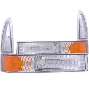 ANZO EURO PARKING LIGHTS|1999-2004 FORD SUPER DUTY 1
