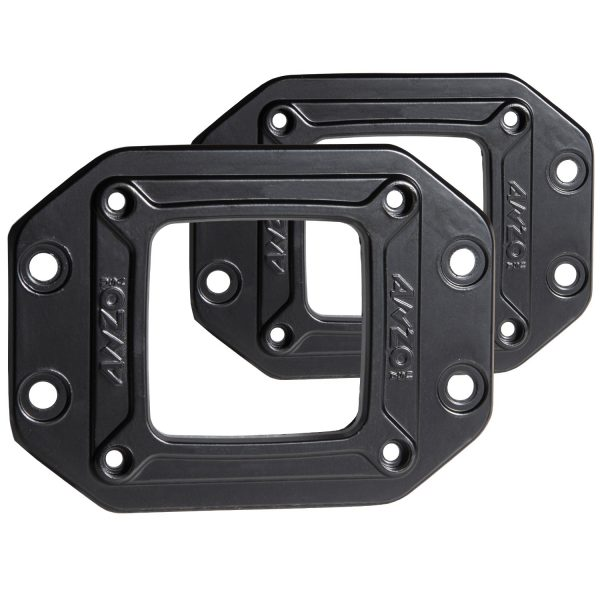 ANZO RUGGED OFF-ROAD 3X3 FLUSH MOUNT FLANGE 1