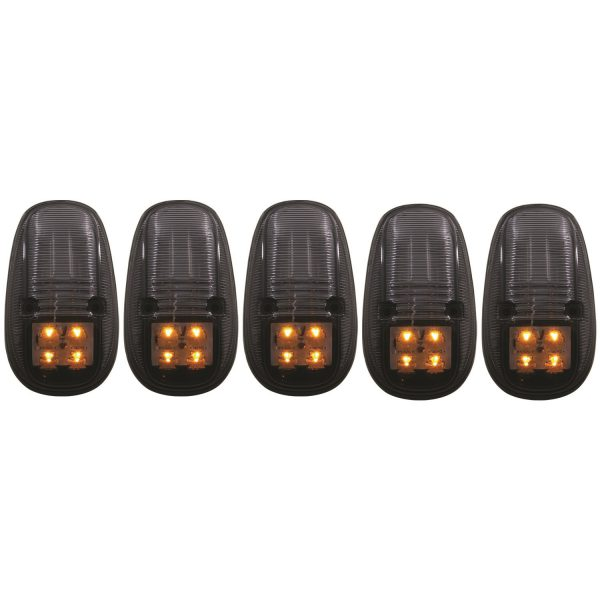 ANZO SMOKED LED CAB LIGHTS|1999-2002 DODGE RAM (WITH FACTORY CAB LIGHTS) 1