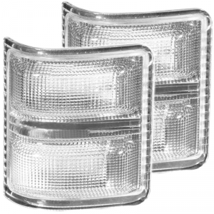 ANZO CLEAR LED MIRROR LIGHT 2008-2016 FORD SUPER DUTY 1
