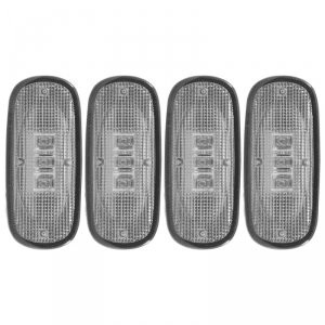 ANZO CLEAR LED FENDER LIGHTS|2003-2009 DODGE RAM 2500/3500 1