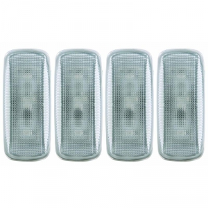 ANZO CLEAR LED FENDER LIGHTS|2010-2015 DODGE RAM DUALLY 1
