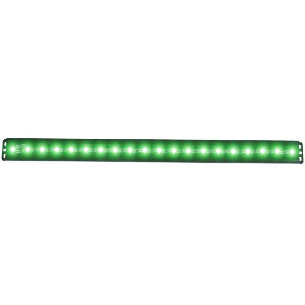"ANZO 24"" 10W SLIMLINE GREEN LED FLOOD BEAM LIGHT BAR|UNIVERSAL 1"