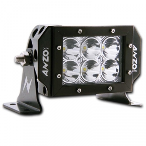 """ANZO 6"""" RUGGED HIGH INTENSITY 3W LED OFF-ROAD LIGHT
