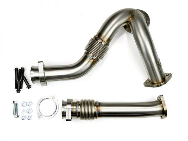 SINISTER DIESEL Y-PIPES (RAW)|2003-2007 FORD 6.0L POWERSTROKE 1