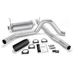 BANKS POWER GIT-KIT POWER BUNDLE W/ SINGLE EXIT/BLACK TIP|1999-2003 FORD 7.3L POWERSTROKE (F-450/F-550 AUTO/MAN TRANS) 1