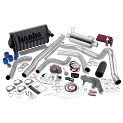 BANKS POWER POWERPACK COMPLETE POWER BUNDLE W/ SINGLE EXIT/BLACK TIP|1999.5 FORD 7.3L POWERSTROKE (F-450/F-550 MAN TRANS) 1