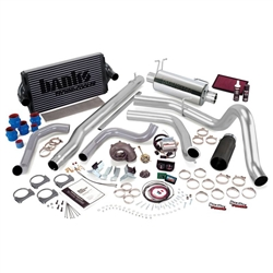 BANKS POWER POWERPACK COMPLETE POWER BUNDLE W/ SINGLE EXIT/BLACK TIP|1999.5-2003 FORD 7.3L POWERSTROKE (F-450/F-550 AUTO TRANS) 1