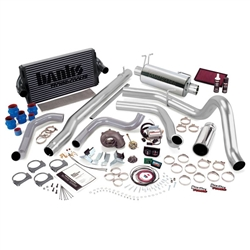 BANKS POWER POWERPACK COMPLETE POWER BUNDLE W/ SINGLE EXIT/CHROME TIP 1999.5-2003 FORD 7.3L POWERSTROKE (F-450/F-550 AUTO TRANS) 1