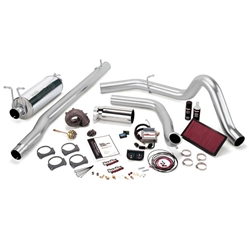 BANKS POWER STINGER PLUS POWER BUNDLE W/ SINGLE EXIT/CHROME TIP|1999 FORD 7.3L POWERSTROKE (F-250/F-350 AUTO TRANS) 1
