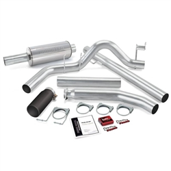 BANKS POWER GIT-KIT POWER BUNDLE W/ SINGLE EXIT/BLACK TIP|1998-2000 DODGE 5.9L CUMMINS (EXT CAB) 1