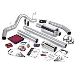 BANKS POWER STINGER POWER BUNDLE W/ SINGLE EXIT/CHROME TIP|1999-2000 DODGE 5.9L CUMMINS (STANDARD CAB) 1
