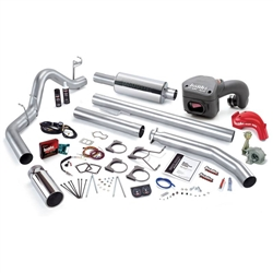 BANKS POWER POWERPACK COMPLETE POWER BUNDLE W/ SINGLE EXIT/CHROME TIP|1998.5-2000 DODGE 5.9L CUMMINS (STANDARD CAB) 1