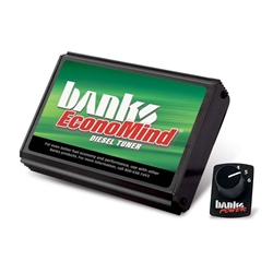 BANKS POWER ECONOMIND TUNER W/ SWITCH (POWERPACK CALIBRATION)|2006-2007 GM 6.6L DURAMAX LLY/LBZ 1