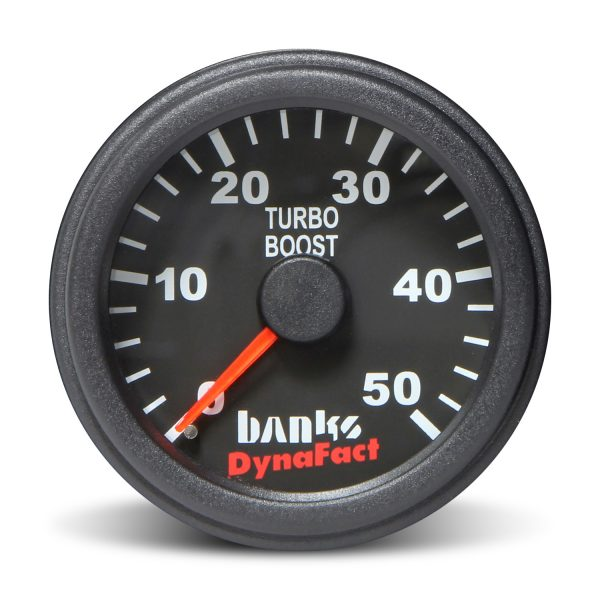 "BANKS POWER 2-1/16"" BOOST GAUGE KIT (0-50 PSI)