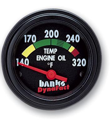 BANKS POWER ENGINE OIL TEMP GAUGE KIT 1994-2007 DODGE 5.9L CUMMINS 1